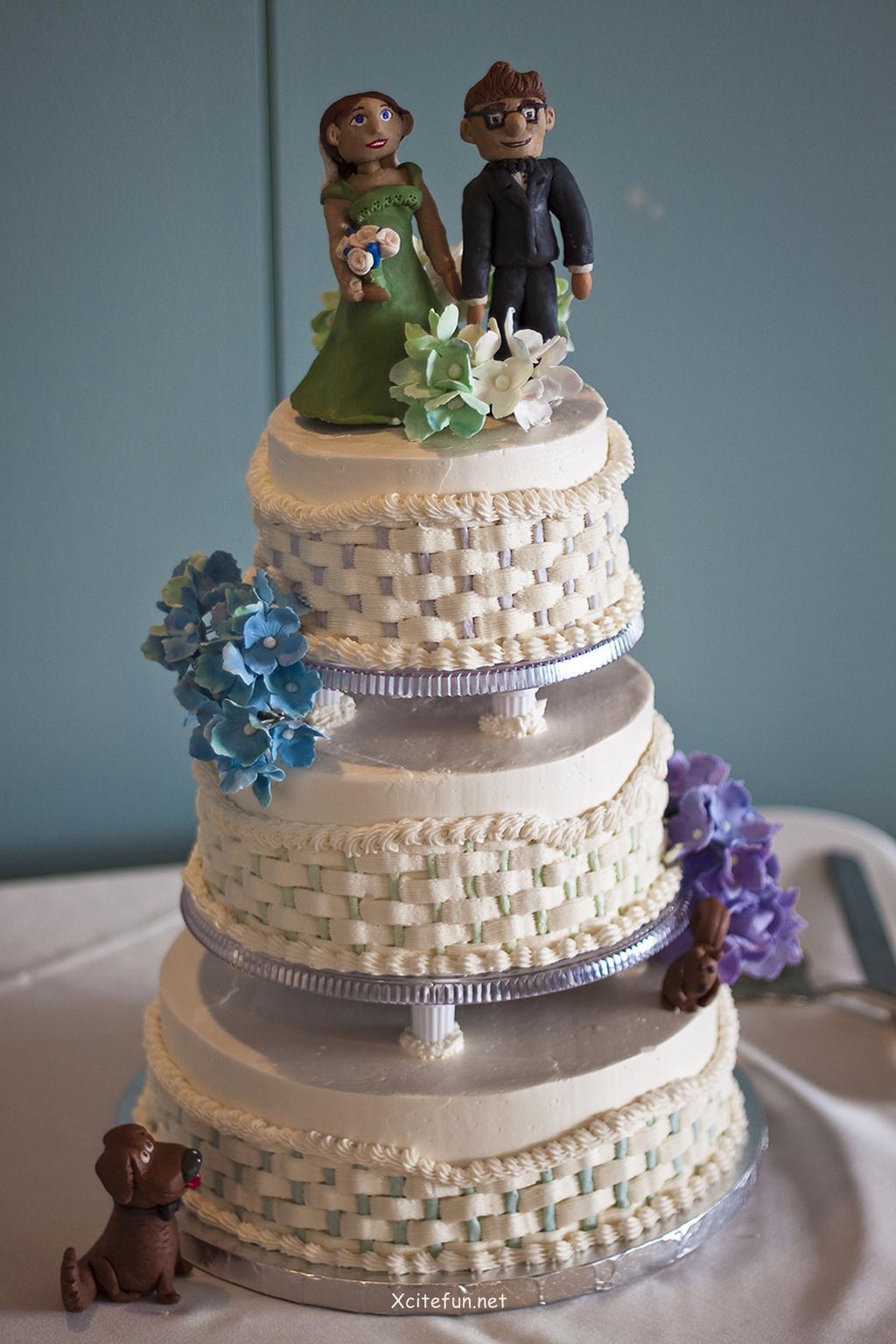 Wedding Cakes Decorations  Wedding Cakes Decorating Ideas XciteFun