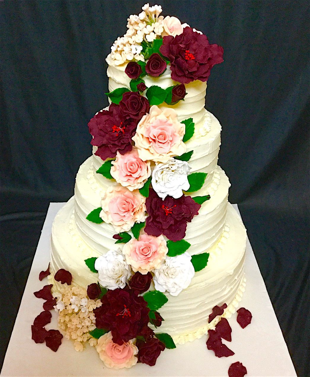 Wedding Cakes Delivery  Wedding Cakes Delivery In Bangalore 5000 Simple Wedding