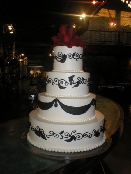 Wedding Cakes Denver  Gateaux Pastries Wedding Cake Denver CO WeddingWire