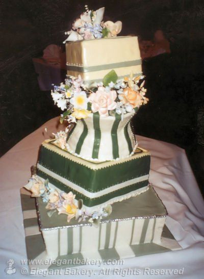 Wedding Cakes Denver  Elegant Bakery Wedding Cakes in Denver Colorado