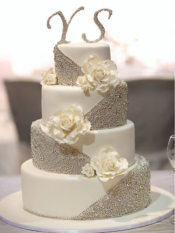 Wedding Cakes Designs Pictures  25 Fabulous Wedding Cake Ideas With Pearls