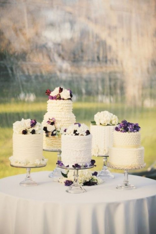 Wedding Cakes Display Ideas  How To Display Multiple Wedding Cakes 27 Amazing Ideas