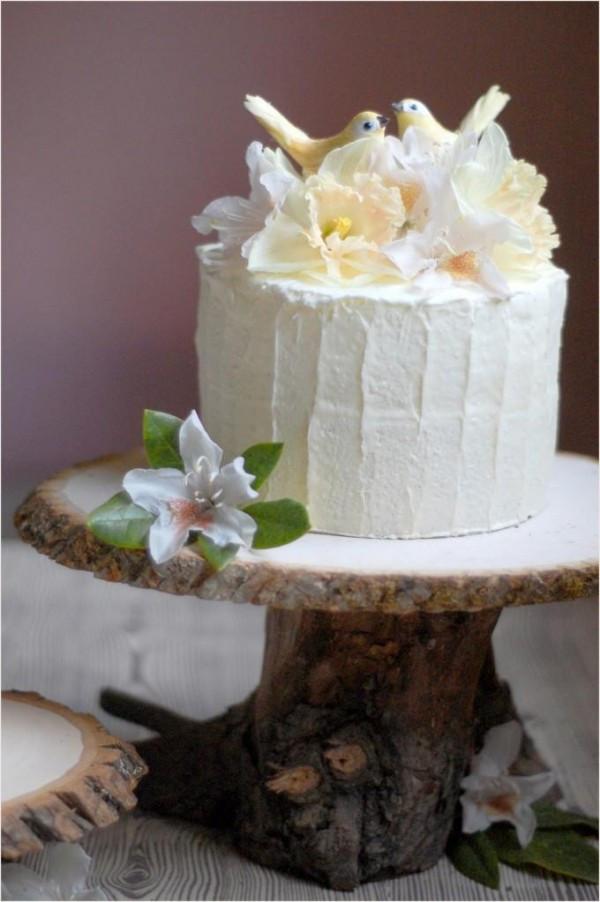 Wedding Cakes Diy  DIY Rustic Wedding Cake Stand ce Wed