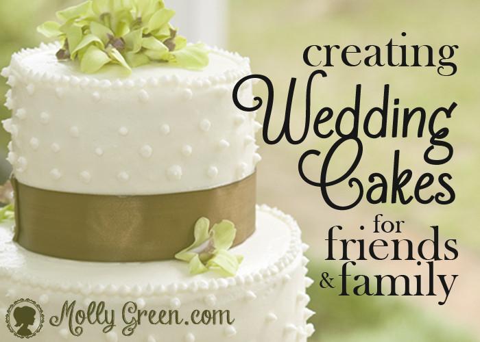 Wedding Cakes Diy  DIY Wedding Cakes Molly Green