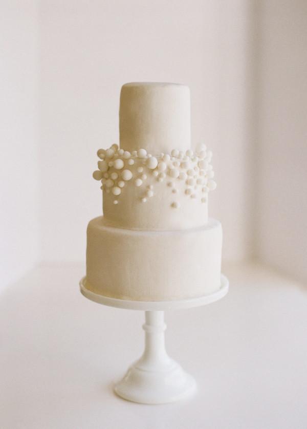 Wedding Cakes Diy  DIY $10 White Fondant Bubbly Wedding Cake ce Wed