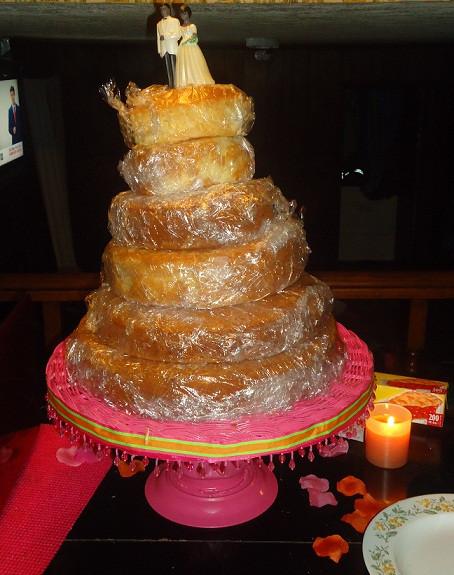 Wedding Cakes Diy  My 1st ever DIY wedding cake and DIY cake stand