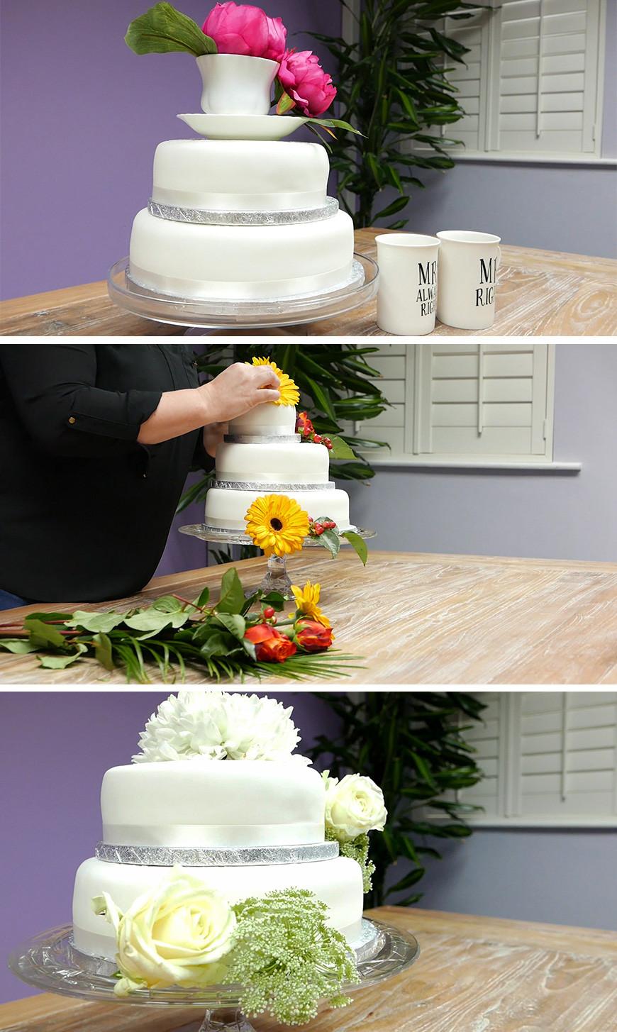 Wedding Cakes Diy  Amazing DIY Wedding Cakes For Under £100