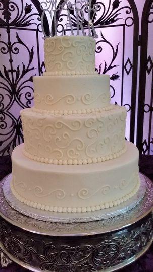 Wedding Cakes Durham Nc  Confectionate Cakes Wedding Cake Raleigh NC WeddingWire