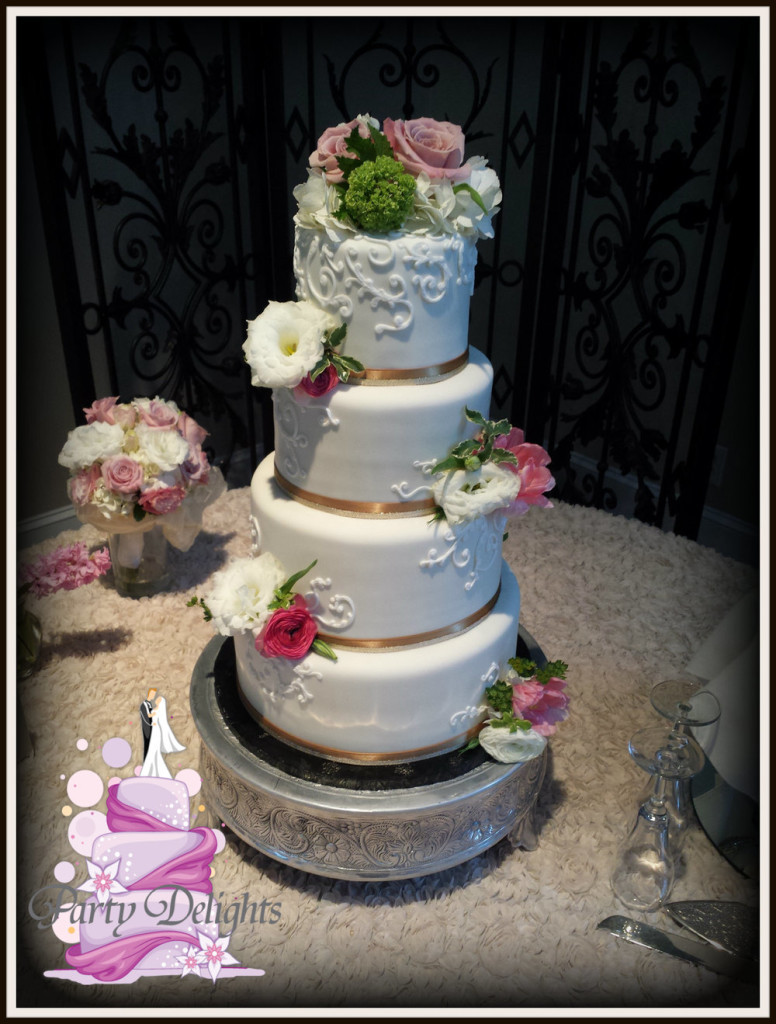 Wedding Cakes Durham Nc  Raleigh NC s Wedding Cake Designer Decorator and Delivery