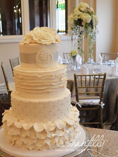 Wedding Cakes El Paso  Chantilly Wedding Cake El Paso TX WeddingWire