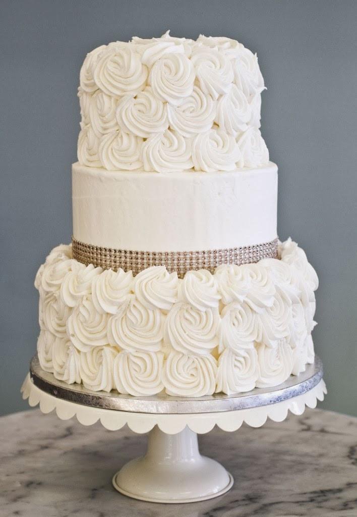 Wedding Cakes Elegant  Vivacious Violet My Dream Wedding PART 1