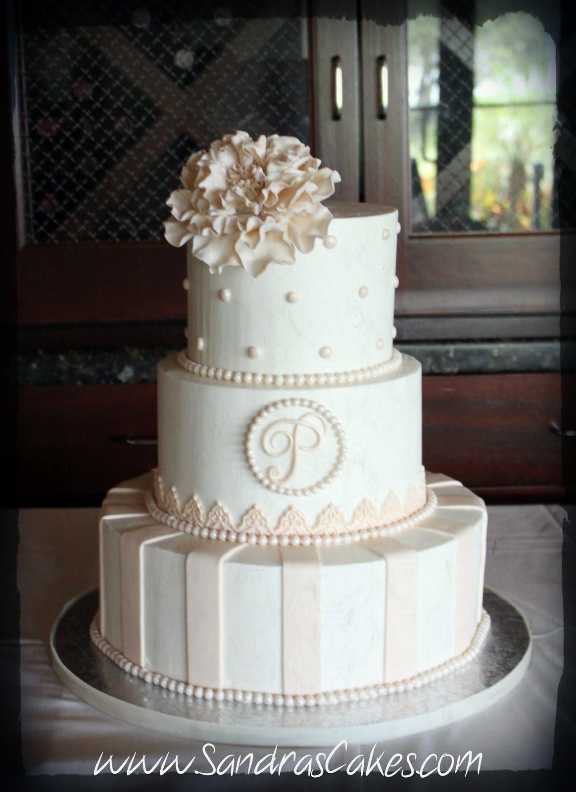 Wedding Cakes Elegant  Nikki and Hilary s Wedding Cake