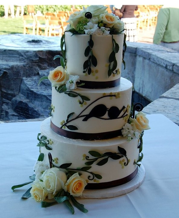 Wedding Cakes Eugene Oregon  76 best Simple & elegant wedding cakes images on Pinterest