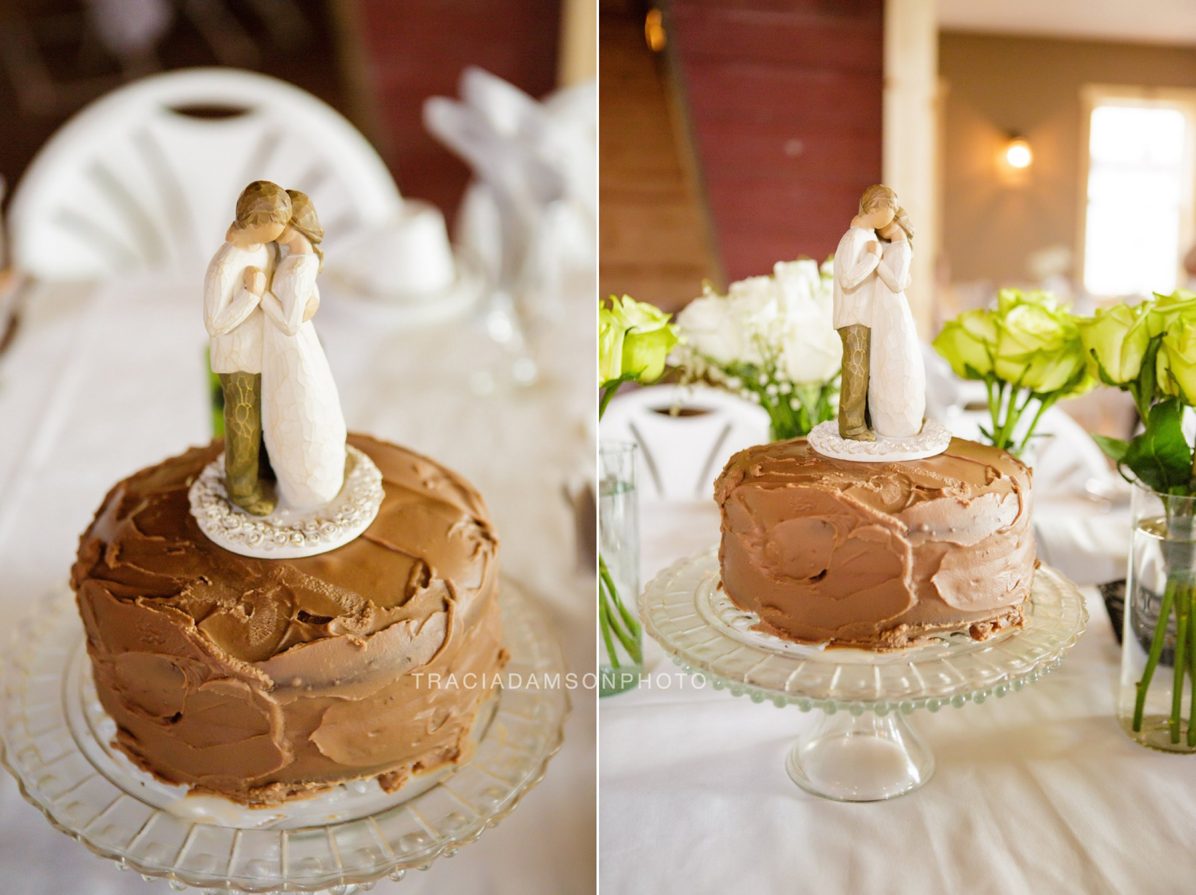 Wedding Cakes Fargo Nd  Jenna Scott Rustic Oaks Wedding grapher