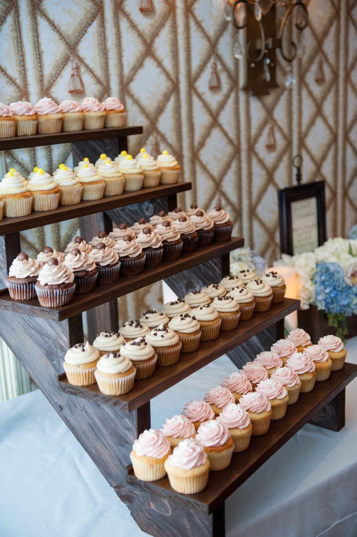 Wedding Cakes Fargo Nd  Rustic Cake Display
