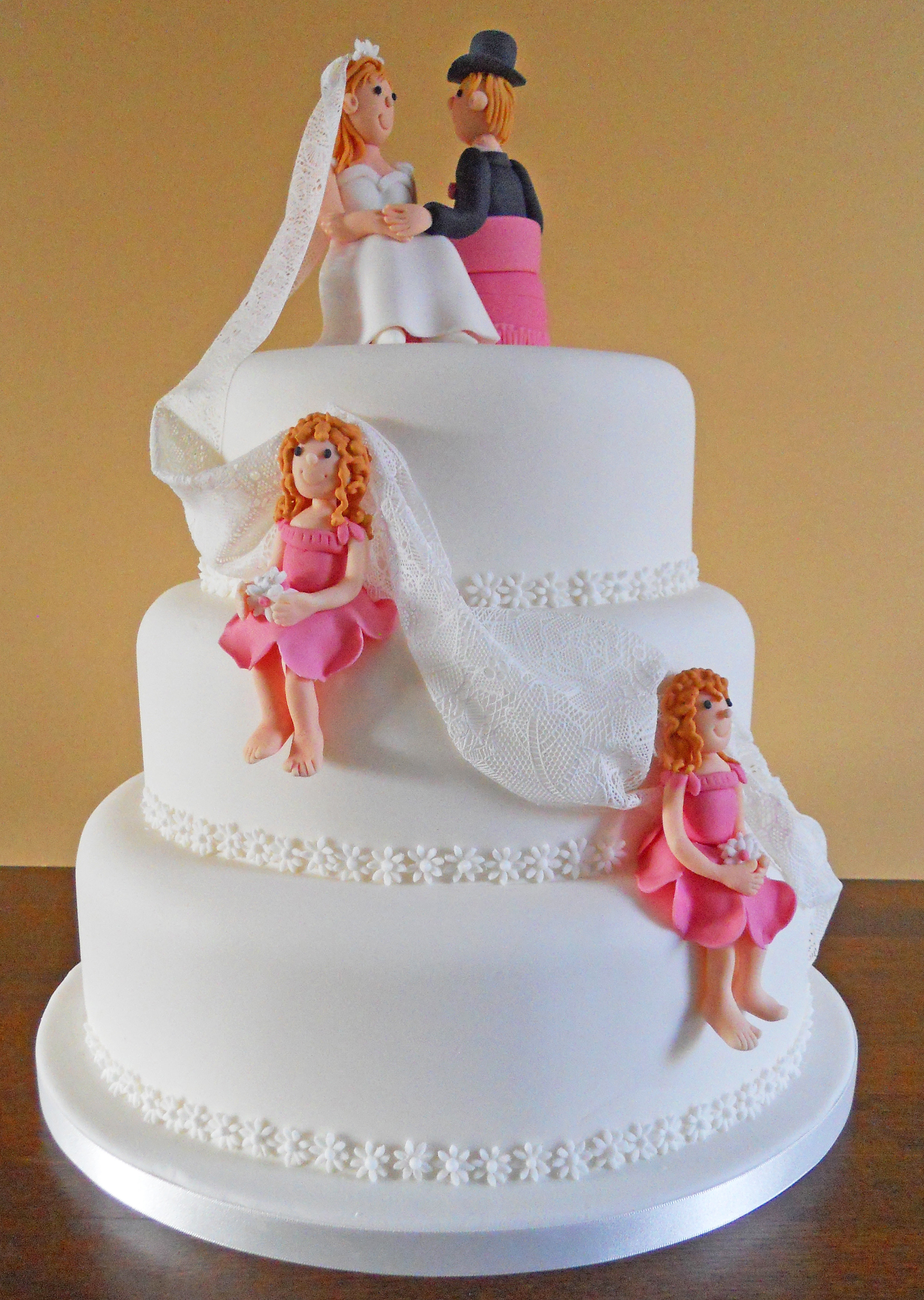 Wedding Cakes Figures  Bride and Groom Delicious…