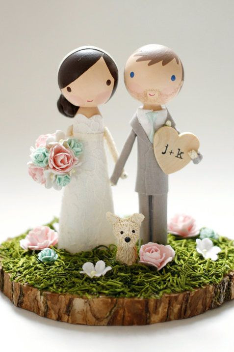 Wedding Cakes Figures  The plete Guide to Wedding Cake Toppers Unique Ideas
