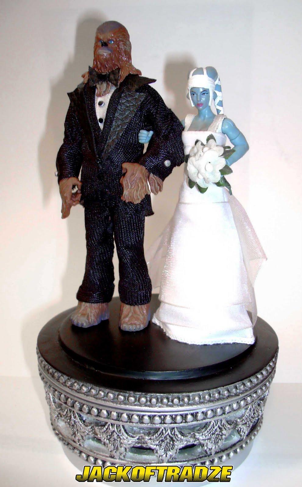 Wedding Cakes Figures  JACKOFTRADZE Custom Star Wars Action Figures Custom