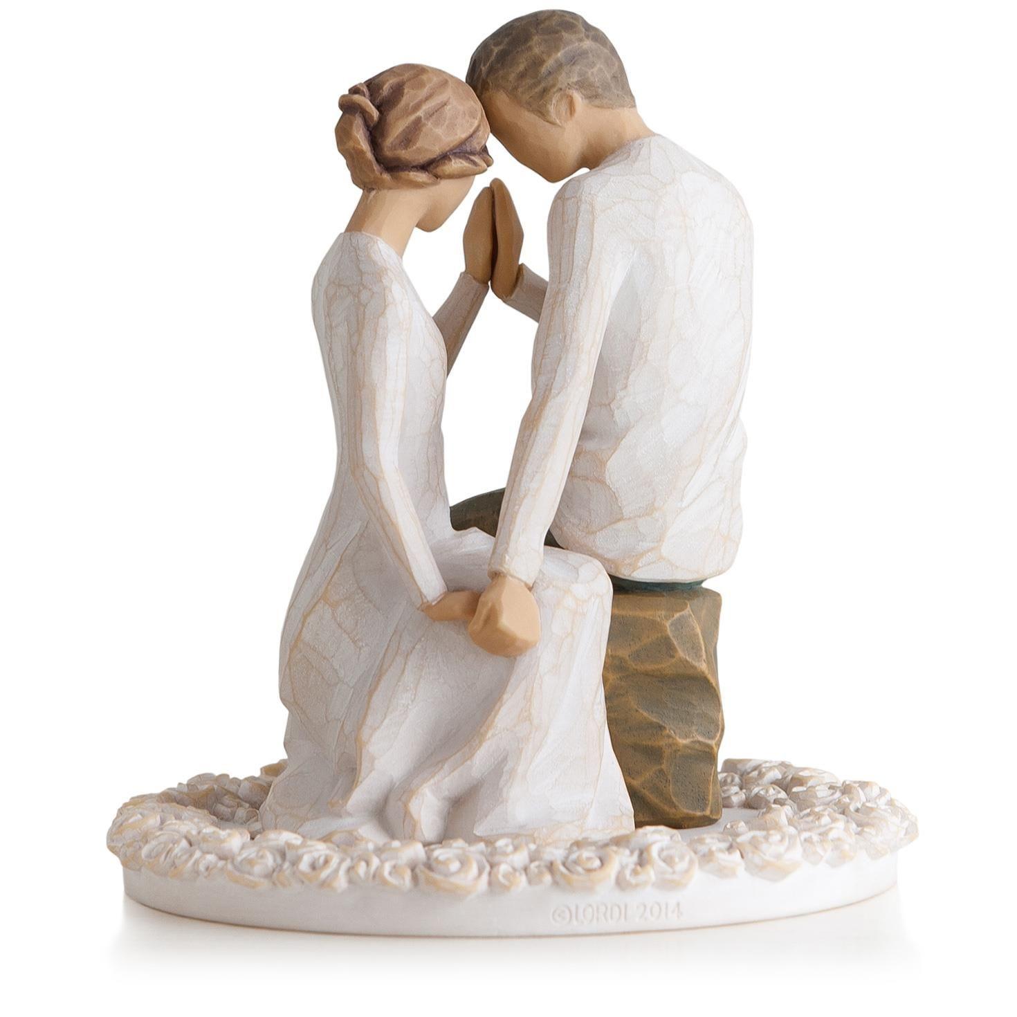 Wedding Cakes Figurines  Willow Tree Around You Figurine & Wedding Cake Topper
