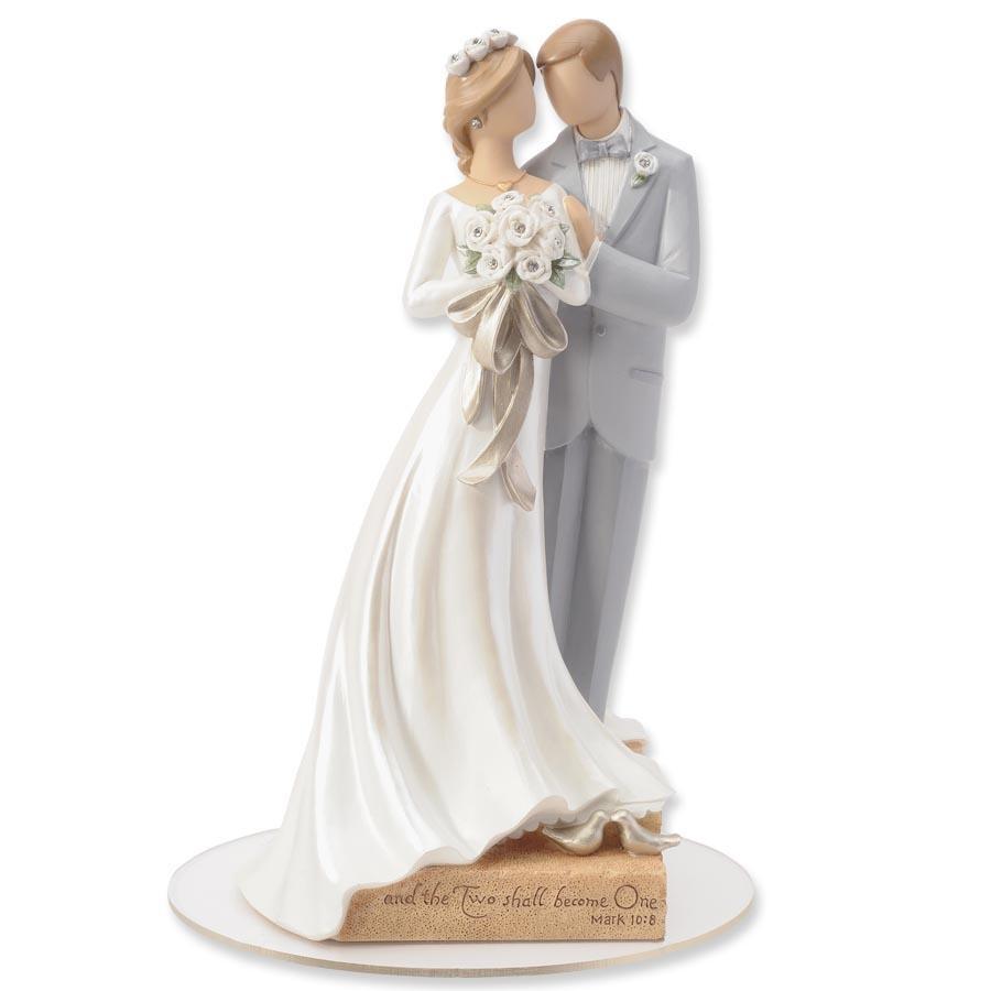 Wedding Cakes Figurines  Legacy of Love Wedding Cake Topper Figurine