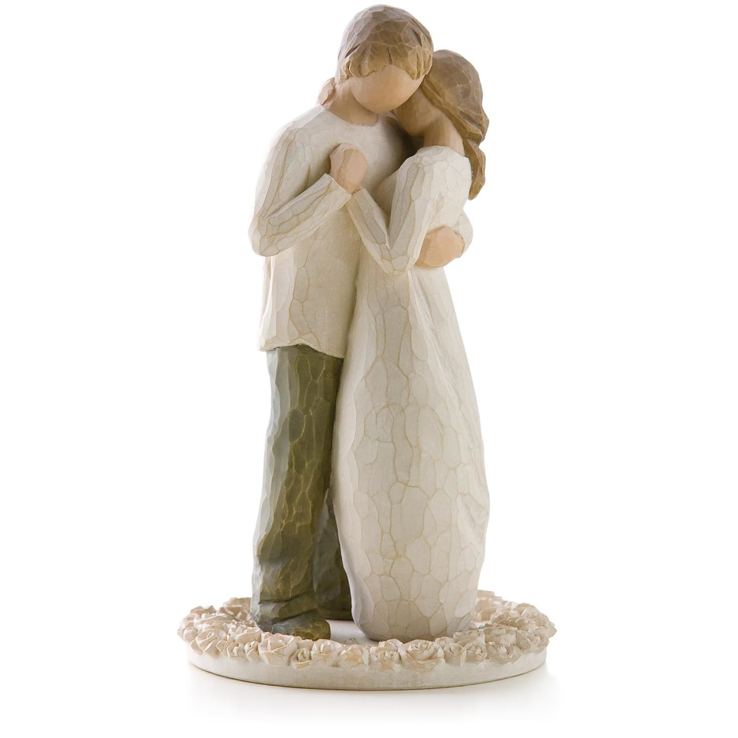 Wedding Cakes Figurines  Willow Tree Promise Wedding Engagement Love Figurine