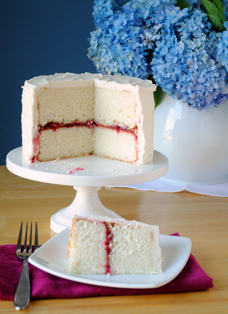 "Wedding Cakes Fillings  ""Best Raspberry Layer Cake"""
