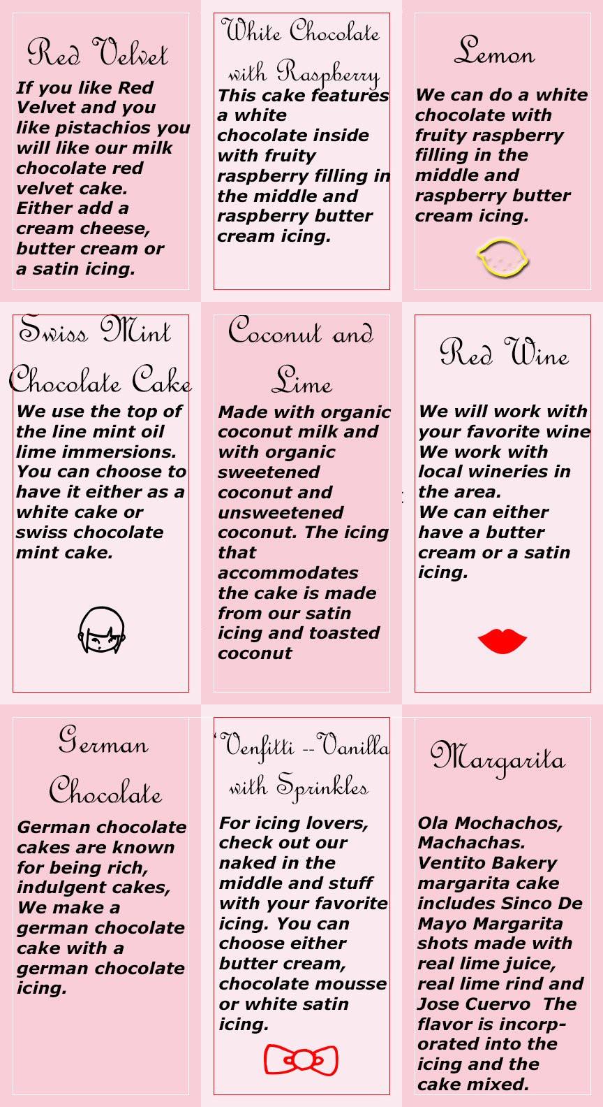 Wedding Cakes Flavors Combinations  buttercream flavors