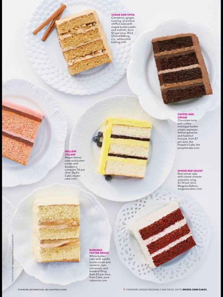 Wedding Cakes Flavors Combinations  Brides Magazine Cake Flavors Wedding Cake