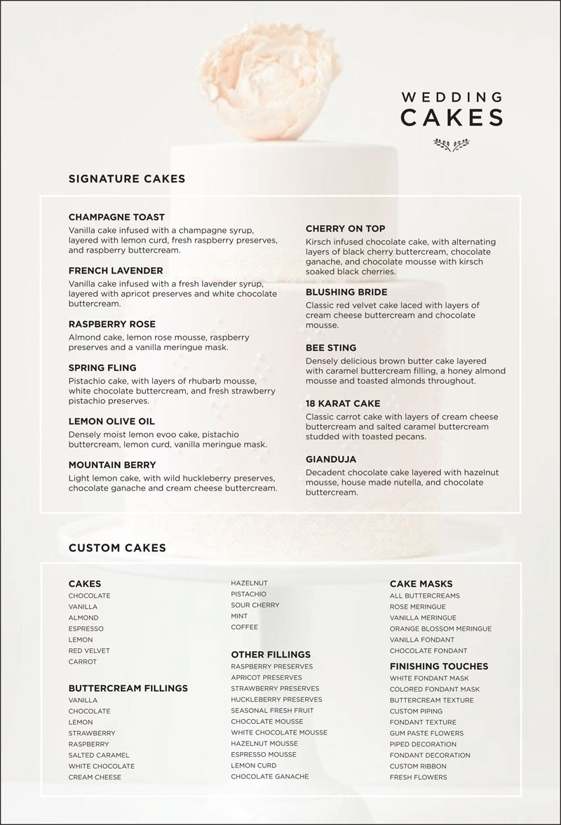 Wedding Cakes Flavours And Fillings  wedding cake flavors and fillings