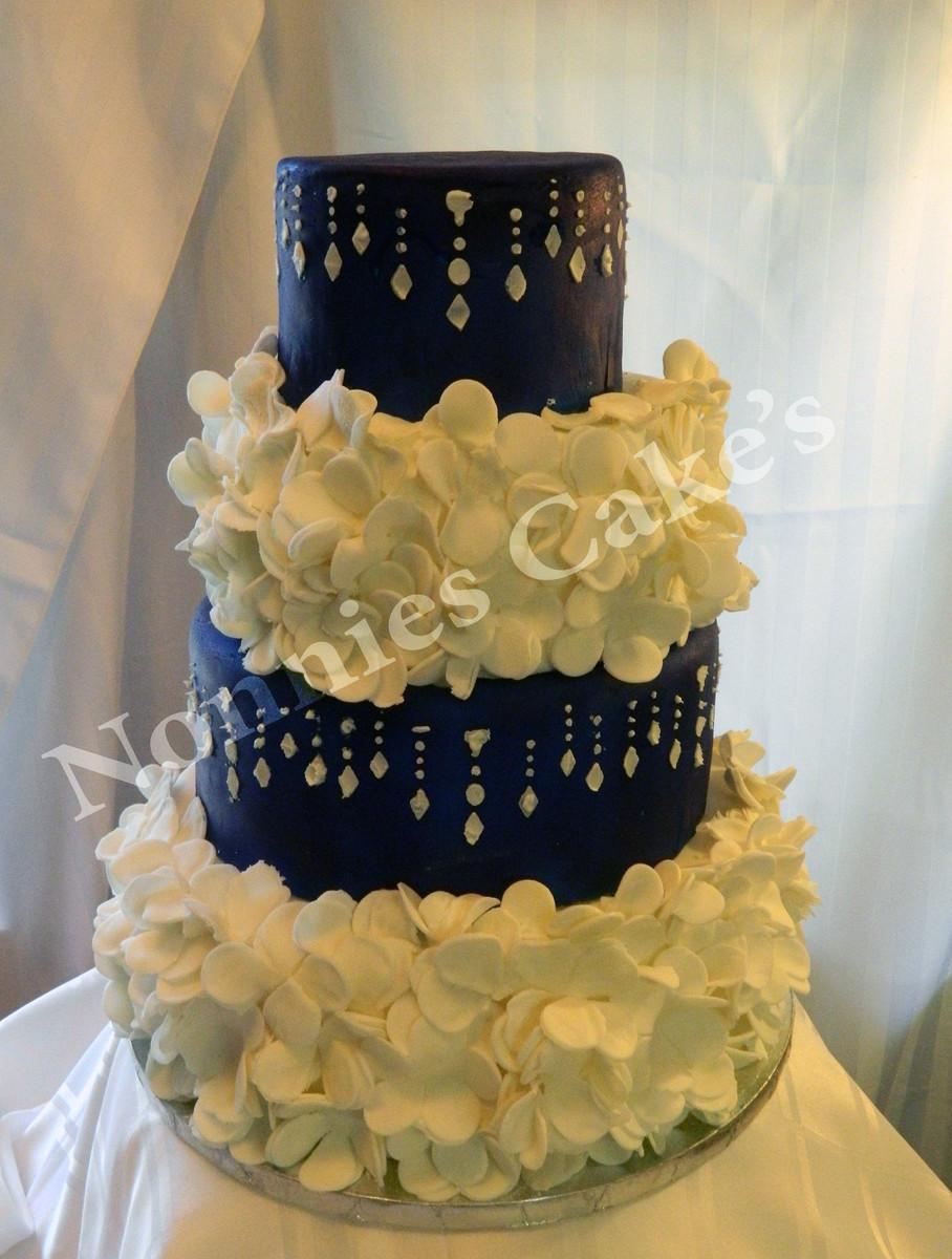 Wedding Cakes Florida  Nonnie s Cakes Wedding Cake Crawfordville FL
