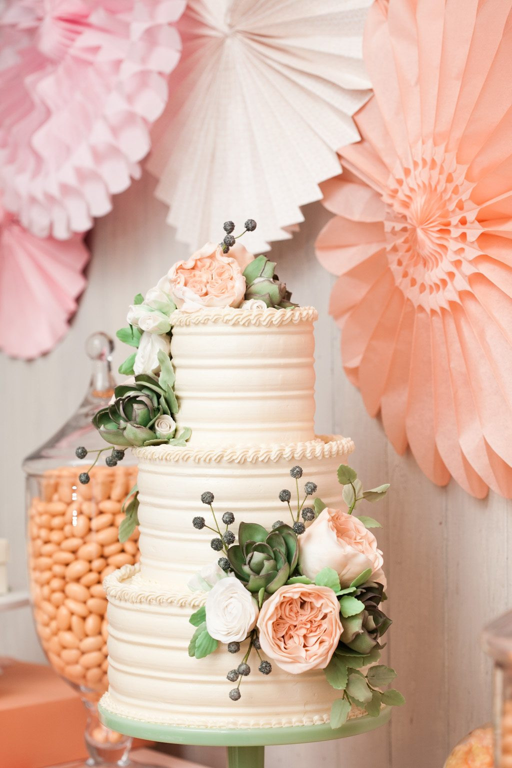 Wedding Cakes Flower  Brunch with Minted The Sweetest Occasion