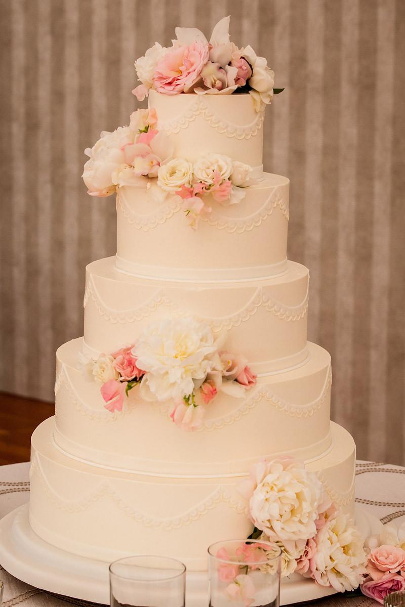 Wedding Cakes Flowers  Confectionery Designs Vogue Magazine Featured Wedding