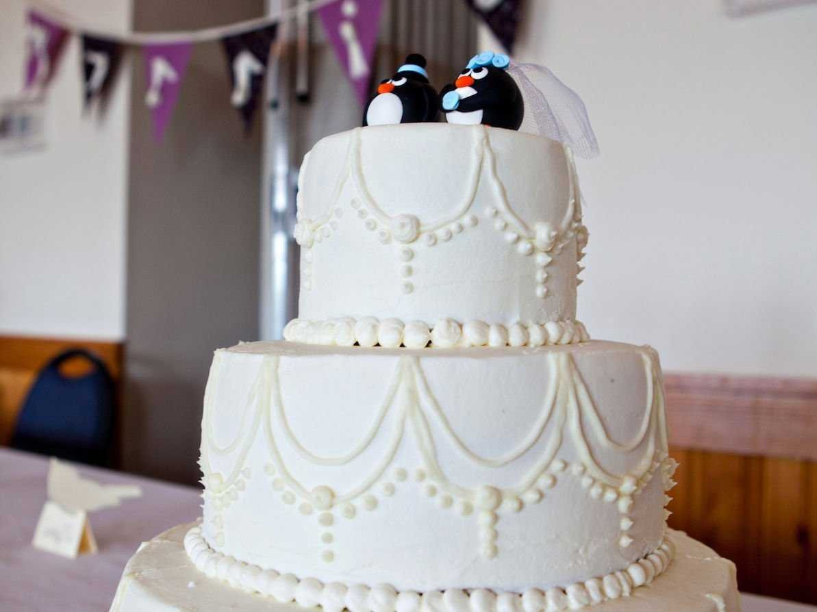 Wedding Cakes For 100 Guests  This Bride Pulled f A 100 Person Wedding For ly $4 000