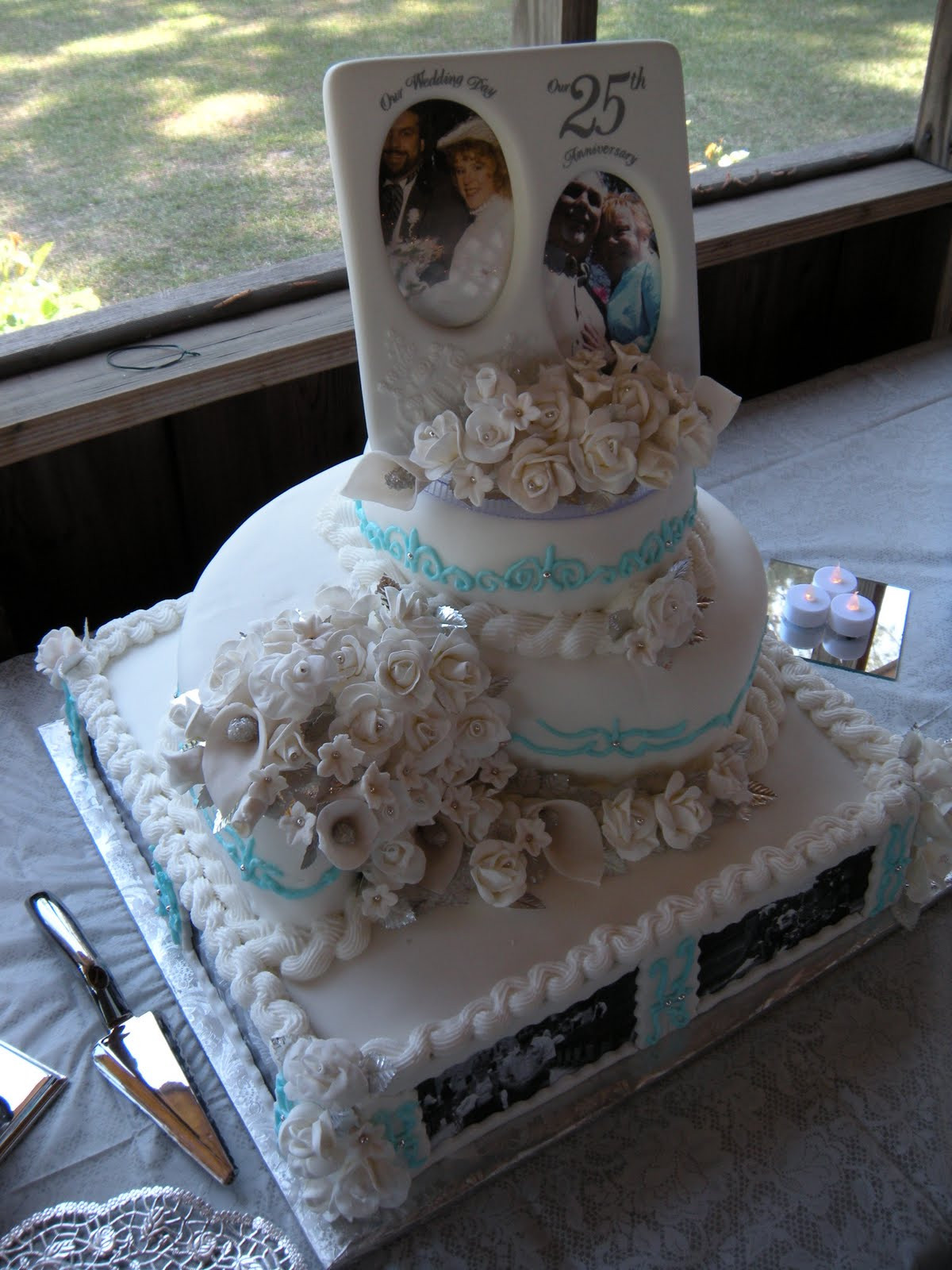 Wedding Cakes For 200 Guests  Cake and Co 3 Tier Anniversary Cake