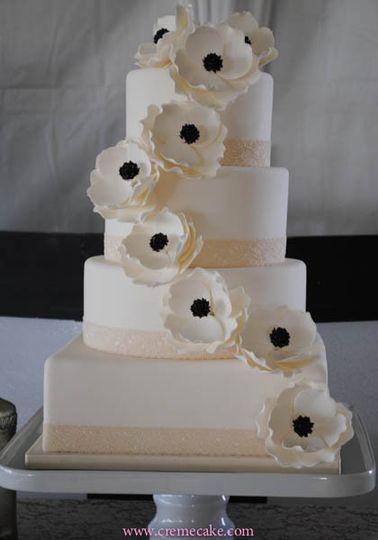 Wedding Cakes Fresno  Creme de la Cake Wedding Cake Fresno CA WeddingWire