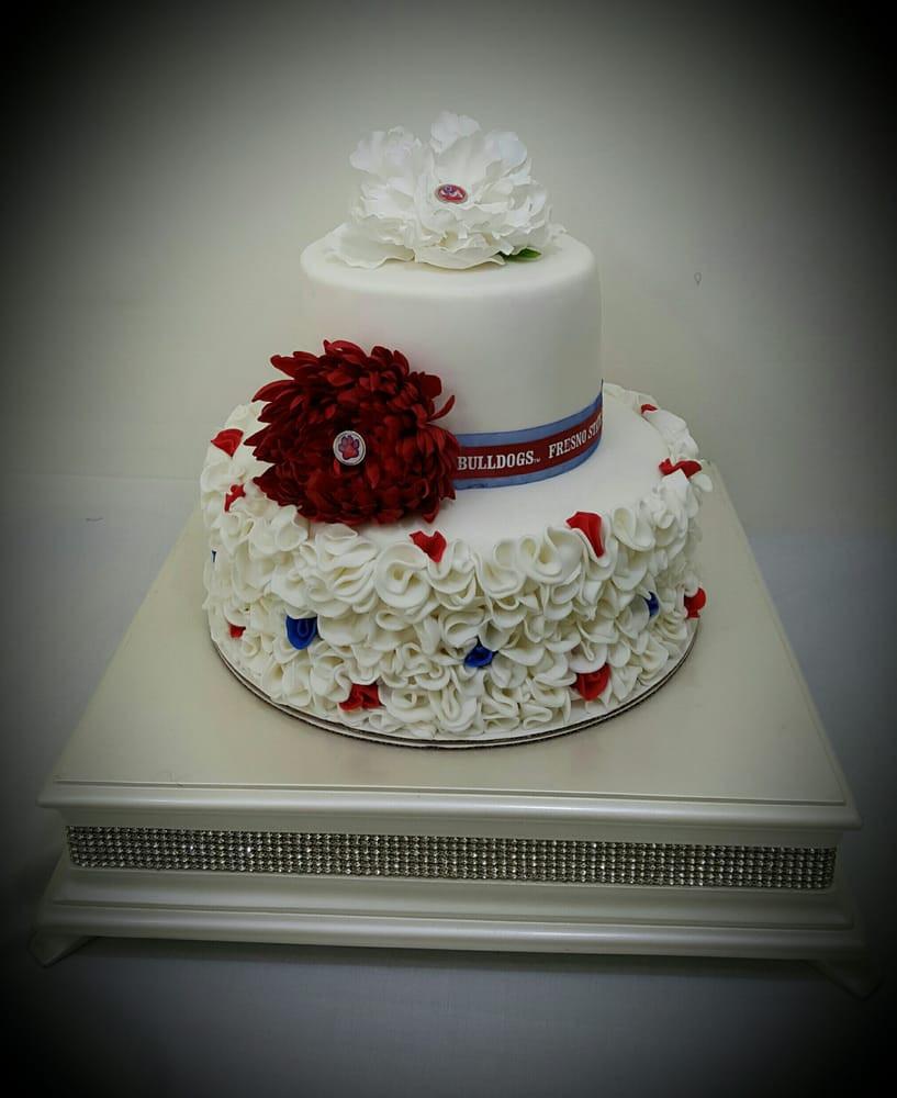 Wedding Cakes Fresno Ca  Tonettes Cakes Bakeries Fresno CA United States Yelp