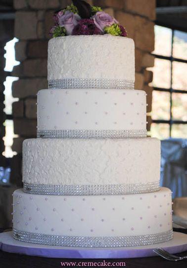 Wedding Cakes Fresno Ca  Creme de la Cake Wedding Cake Fresno CA WeddingWire
