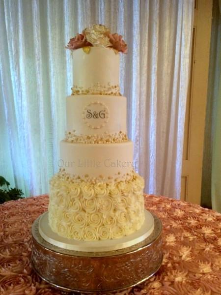 Wedding Cakes Fresno Ca  Our Little Cakery Fresno CA Wedding Cake