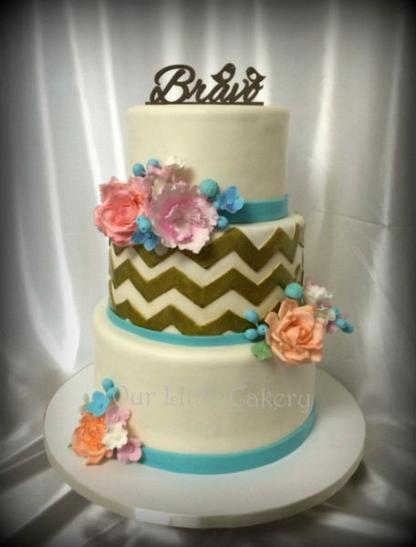 Wedding Cakes Fresno  Our Little Cakery Fresno CA Wedding Cake