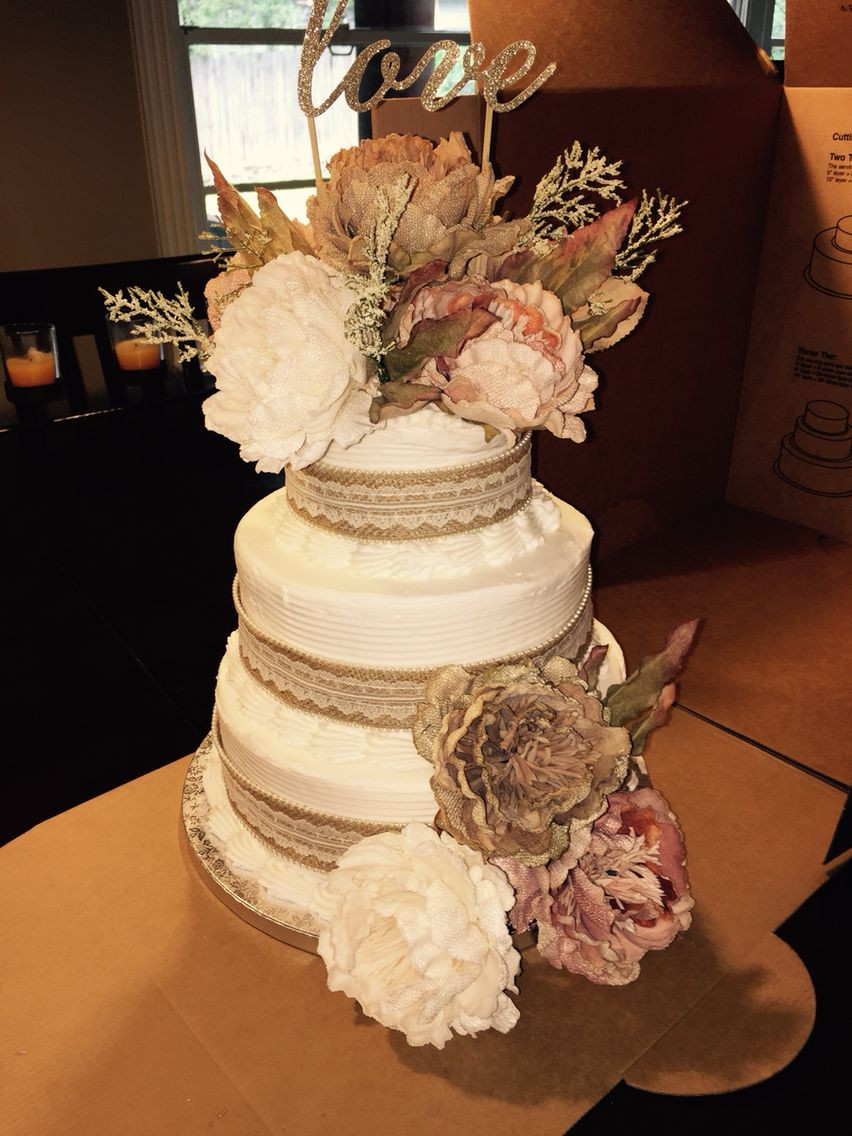 Wedding Cakes From Sam'S Club  Beautiful cake So cheep and easy Sam s Club cake and