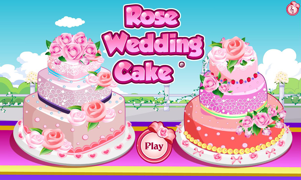 Wedding Cakes Games  Rose Wedding Cake Game Android Apps on Google Play