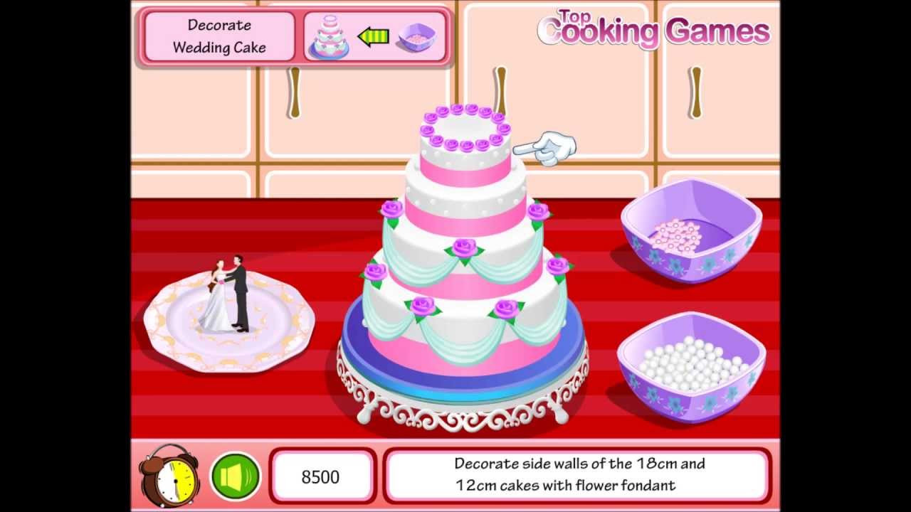 Wedding Cakes Games  Wedding Cake Game