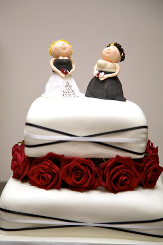 Wedding Cakes Gay  wedding cakes