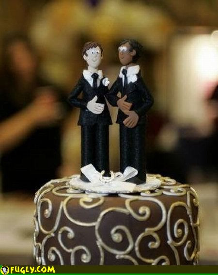 Wedding Cakes Gay  Fashion Female And Have Fun decorations for wedding cake