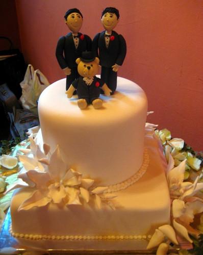 Wedding Cakes Gay  wedding cake