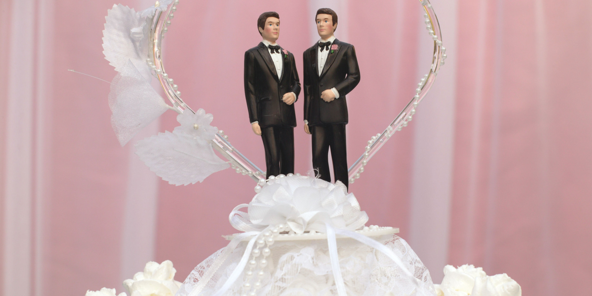Wedding Cakes Gay  Some AL counties give marriage licenses others refuse