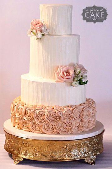 Wedding Cakes Grand Rapids  A Piece O Cake Wedding Cake East Lansing MI