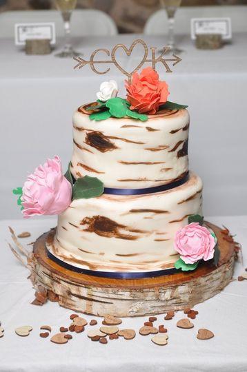 Wedding Cakes Grand Rapids Mi  Log Cabin Event and Design Studio Wedding Cake Grand