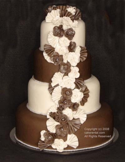 Wedding Cakes Grand Rapids  FunCakes Rental & Real Wedding Cake Grand Rapids