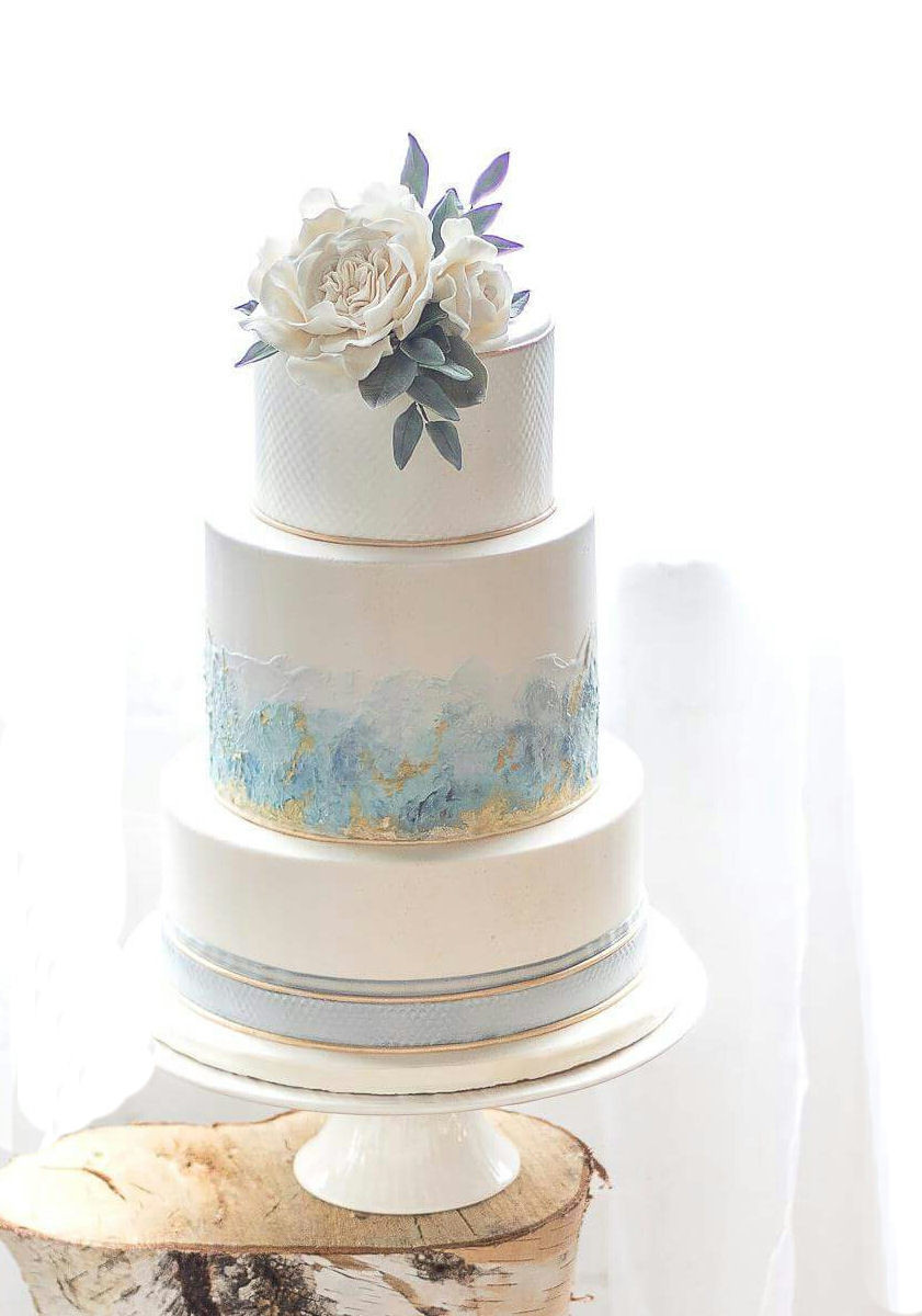 Wedding Cakes Grand Rapids  Sugarberry Designs Wedding Cake Grand Rapids MI